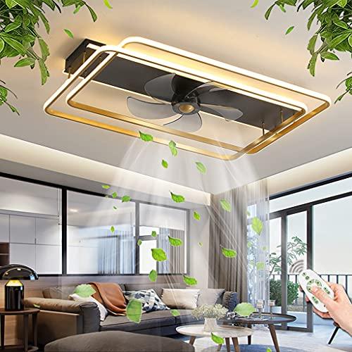 Ventilador De Techo Con Iluminación LED 86W Regulable Control Remoto Ventilador Luz De Techo 3 Velocidades De Viento Fan Lámpara De Techo Para Habitación De Niños Dormitorio Sala De Estar Comedor
