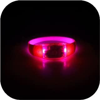 Molyveva Outdoors Watch - LED Light Up Sound Activated Bracelet - Boy Girl Children Kids Wrist Toy Watch