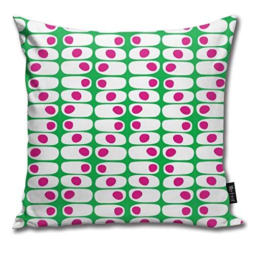 Rasyko ModWallpaper - Funda de cojín decorativa para cama de coche, sofá