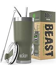 Beast Tumbler (40 oz, Army Green)