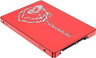 Somnambulist 2.5 Inch SATA 3 120GB 240GB 60GB SATA3 SSD Internal Hard Drive for Laptop (Red Bear-120GB)