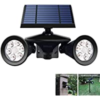 Iegeek Solar Spotlights Motion Sensor Yard Powered Lights