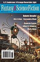 """A Strange Uncertain Light"" G.V. Anderson Fantasy & Science Fiction"