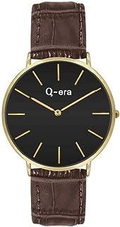 Q-era Brown Leather Women's Watch - QV2804-1