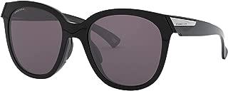 Oakley Women's Low Key Sunglasses,OS,Polished Black/Prizm Grey