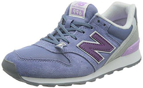 New Balance Damen Wr996 Gg Sneaker, grau/Flieder, 37.5 EU