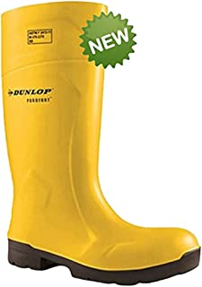 Dunlop FoodPro Purofort MultiGrip Safety Shoes EA61231 Size - 8 Yellow