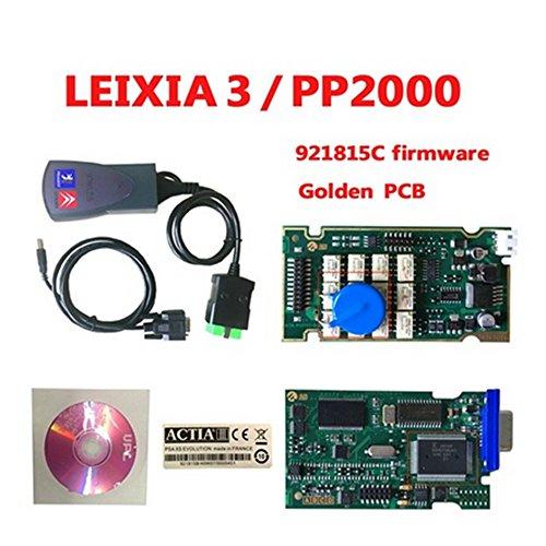 Le plus récent V7.83 Lexia3 Lexia 3 V48 outil de diagnostic Lexia-3 PP2000 V25 avec New Diagbox Arrivée
