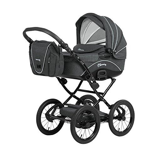 Knorr-Baby 36000-8 Kombikinderwagen Classico, grau
