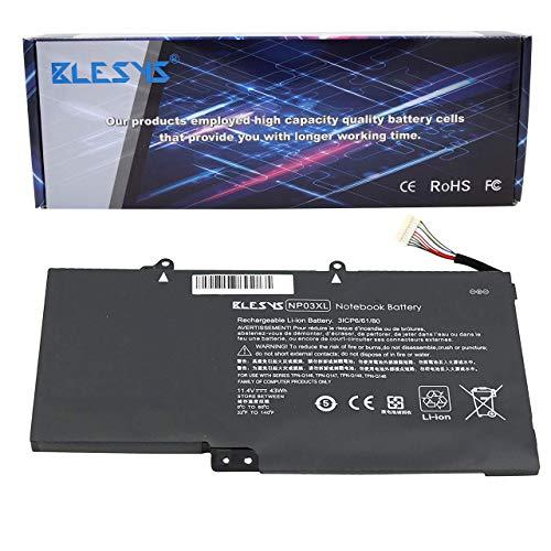 BLESYS 43Wh NP03XL HSTNN-LB6L 760944-421 761230-005 Compatible con la batería del portátil HP Pavilion X360 13-A010DX 13-b116tu HP Envy 15-U010DX 15-U337CL 15-U050CA