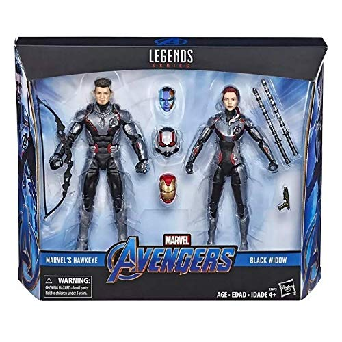 MV Avengers: Endgame Hawkeye and Black Widow Target Exclusive 2-Pack