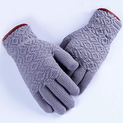 XXHDEE mode wol pak paardrijden warme touchscreen jacquard beschermende handschoenen, diverse kleuren handschoenen