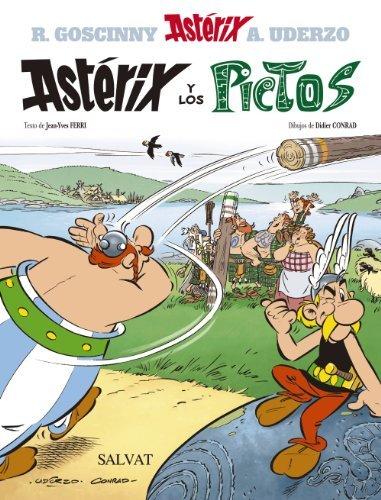 Ast Rix Y Los Pictos Asterix And The Pictos By Goscinny Ren Ferri Jean Yves 2013 Hardcover