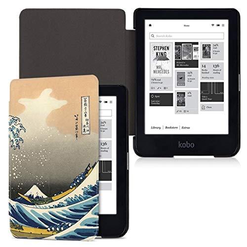 DLRSET Hülle kompatibel mit E-Reader, Kasten for Kobo Clara HD EReader Leichten...
