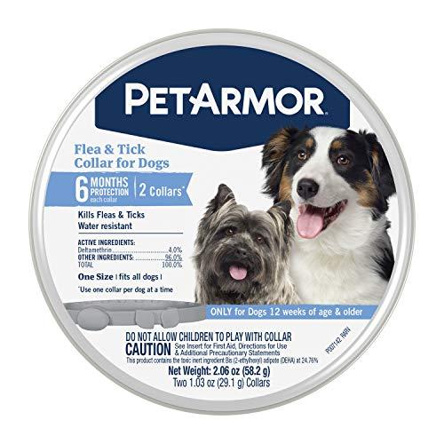 PetArmor Flea & Tick Collar for Dogs - 2 Count
