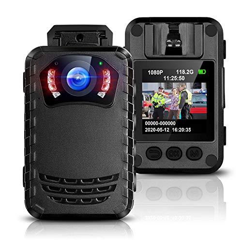 BOBLOV N9 Mini Body Camera Removable SD Card up to