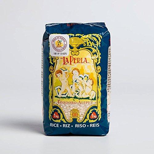 La Perla - Arroz para Paella Valenciana Monovarietal J Sendra.