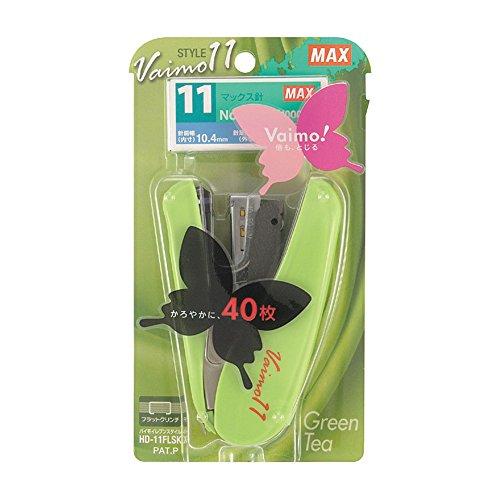 Possible HD-11FLSK / G Green Tea closed 40 sheets Max stapler Fritillaria 11 Style No. 11 needle maximum (japan import)