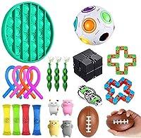 自閉症のためにセットされた22erパック感覚おもちゃは、ストレスと恐怖の指の玩具、感覚玩具セットのストレス除去玩具のおもちゃのおもちゃ、反玩具フィジゲットの玩具セット