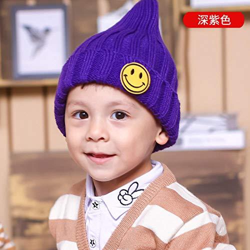 BESTZY Sombreros de Punto Pompom para ni/ños Sombreros de Invierno Earflap ni/ños Orejeras Calientes Gorra Gorro Beb/é de Lana