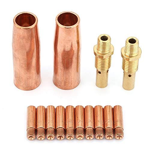 2 ea Mig Welding Gas Diffuser Genuine Tweco 51 Fits Tweco #1 Gun