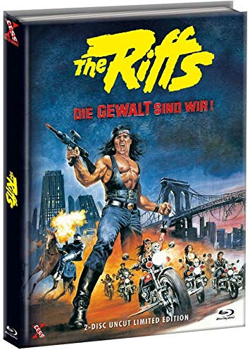 The Riffs 1 - Die Gewalt sind wir - Mediabook Cover C - Limited Edition (+ DVD) [Blu-ray]