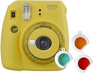 Fujifilm Instax Mini 9 - Cámara instantanea solo cámara Amarillo