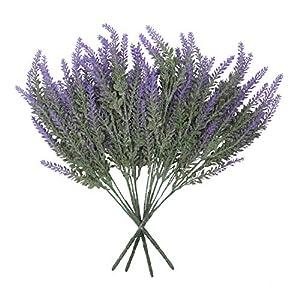Houseables Artificial Lavender Flower, Purple