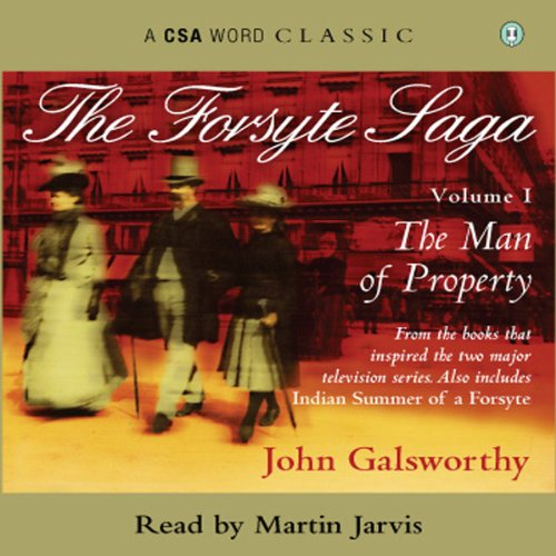 The Forsyte Saga - Volume 1 audiobook cover art