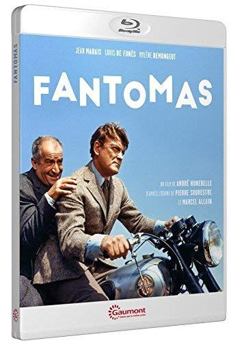 Fantomas (1964) ( Fantômas / Fantômas 70 ) [ Origen Francés, Ningun Idioma Espanol ] (Blu-Ray)