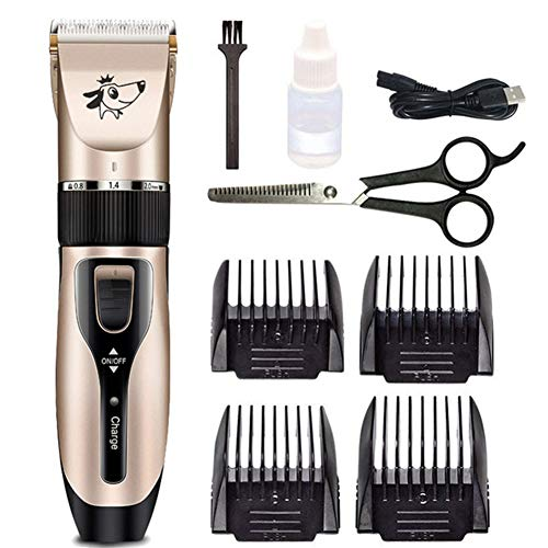 Hond Clippers Tondeuse Set Pet Hair Trimmer Paard Clippers Hond Tondeuses En Trimmers Hond Clippers Professionele Voor Dik Haar Draadloze Clippers