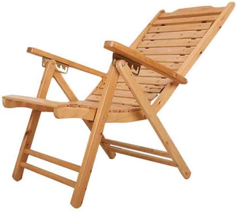 Japan's largest assortment YCSD Solid Wood Recliner Outdoor Courier shipping free Balcony Folding Chair Indoor Ho