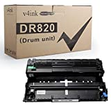 v4ink Compatible DR820 Replacement for Brother DR820 DR-820 Drum Unit for use with Brother HL-L6200DW L6200DWT L5100DN L5200DW L5200DWT L6300DW MFC-L5900DW DCP-L5500DN Printer, Enhanced Version