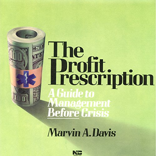 The Profit Prescription audiobook cover art