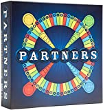 PARTNERS board game - A 4 player strategy board game played in teams of 2 | perfect for game night with family, friends, adults, teens, all ages