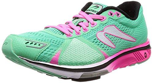 Newton Running Gravity 7, Zapatillas de Running Mujer, Turquesa Teal Fuchsia 001, 36 EU