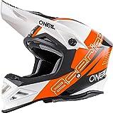 O'NEAL 8 Series Motocross Enduro MTB Helm Nano orange/schwarz/weiß 2018 Oneal: Größe: L (59-60cm)
