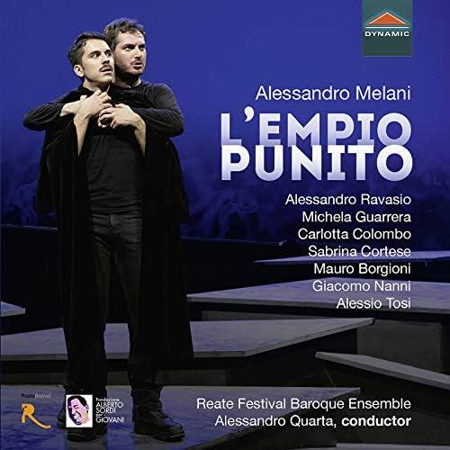 Alessandro Ravasio, Mauro Borgioni, Michela Guarrera, Reate Festival Baroque Ensemble feat. Alessandro Quarta