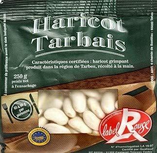 Haricot Tarbais IGP, weiße französische Bohnen Spezialität aus Tarbes, 250g