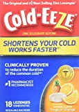 Cold-EEZE Cold Remedy Lozenges Tropical Orange, 18 Count