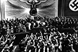 Hitler Accepts The Ovation of The Reichstag After The