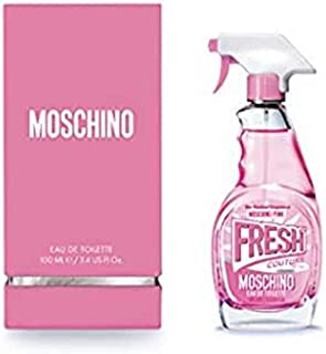 Moschino Pink Fresh Couture for Women 3.4 oz Eau de Toilette Spray