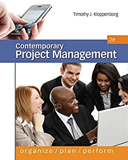 Contemporary Project Management: Organize, Plan, Perform