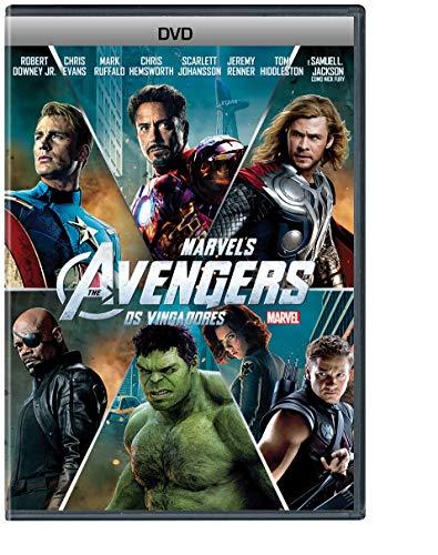 Os Vingadores The Avengers Dvd