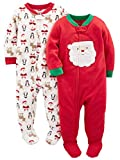 Simple Joys by Carter's Unisex bebé 2-pack Holiday Loose Fit Flame Resistant...