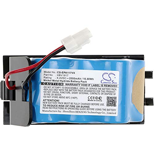 Fantastic Deal! CameronSino Replacement Battery for Euro PRO AP1172,AP1172N,V1917,Shark AP1172,AP117...