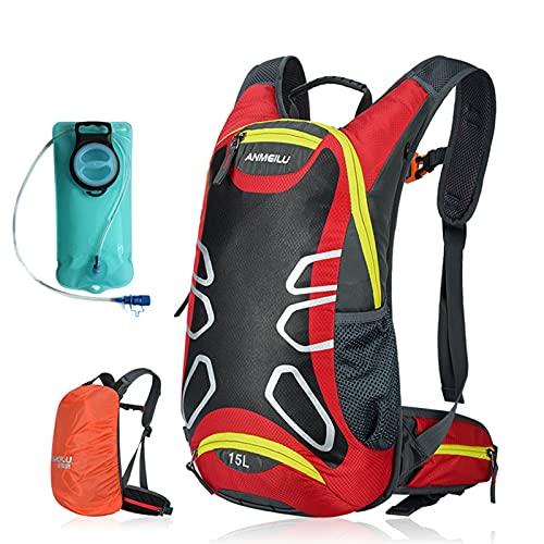 ANMEILU 15L Trekking Rucksack Bike Bag Bicycle Bag Hiking Outdoor Cycling...