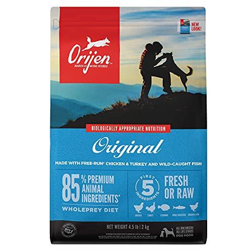 ORIJEN Dog Original Recipe, 4.5lb, High-Protein Grain-Free Dry...