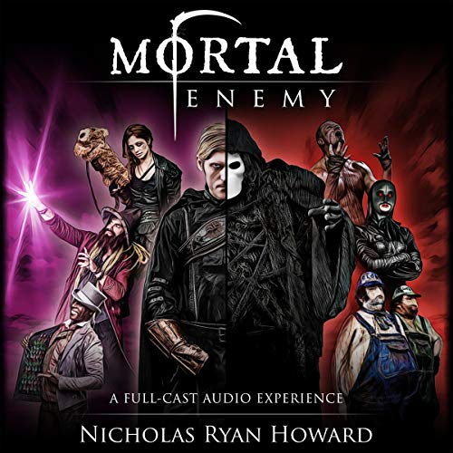 Mortal Enemy audiobook cover art