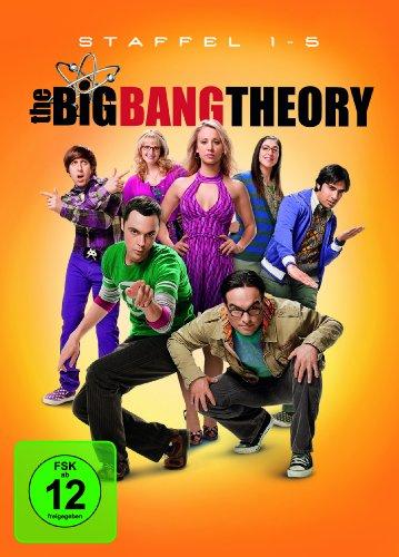 Cover The Big Bang Theory Staffel 1-5